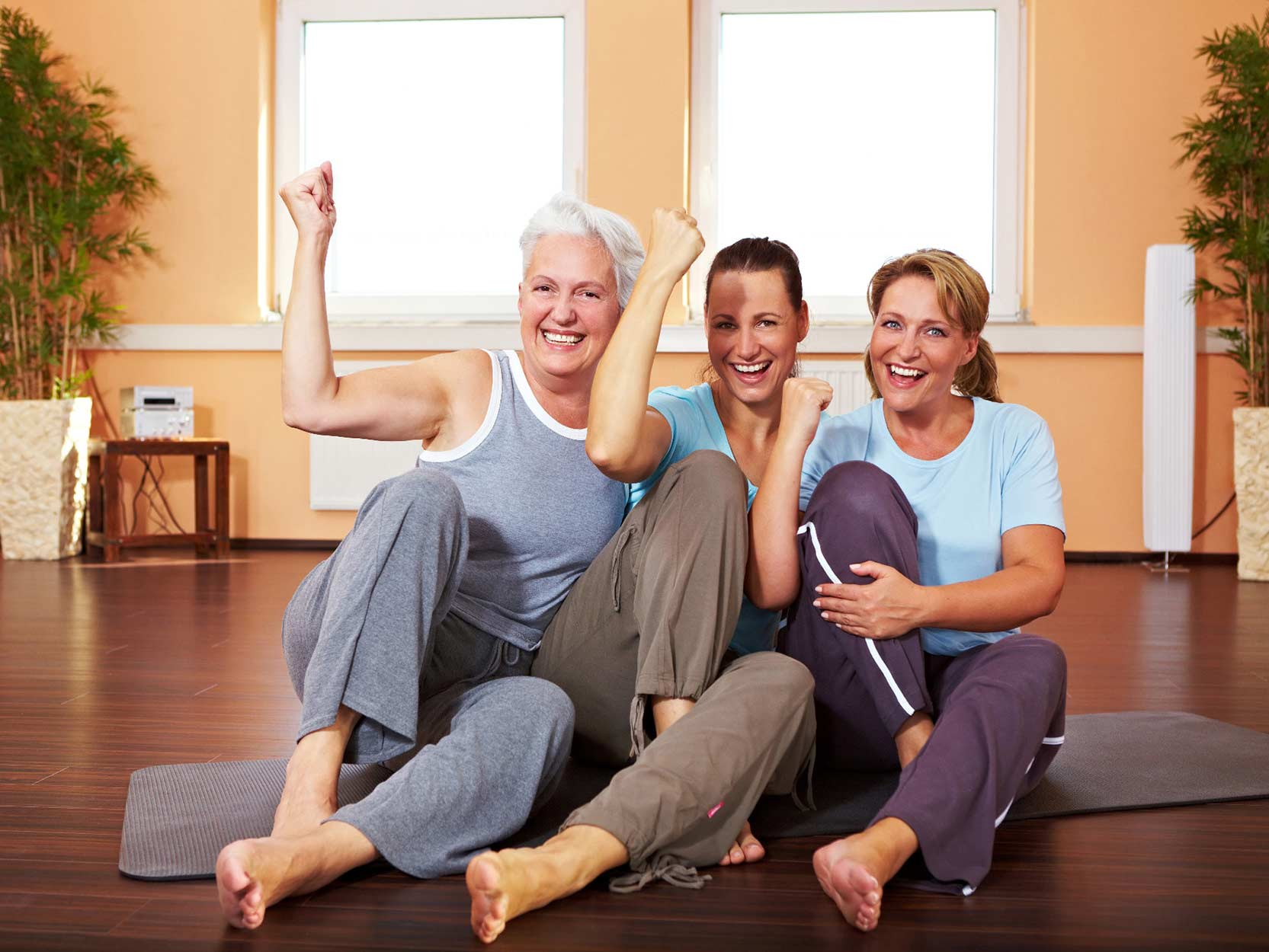 The Elderly Benefit Greatly from Regular Exercise