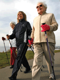 Nordic Walking – Seniors Leading the Way in Health and Fitness