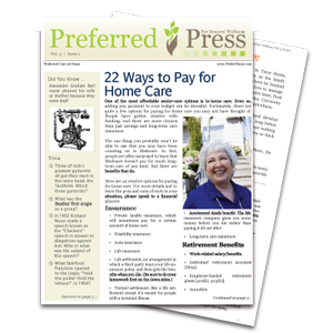 PCAH 22 Ways Newsletter