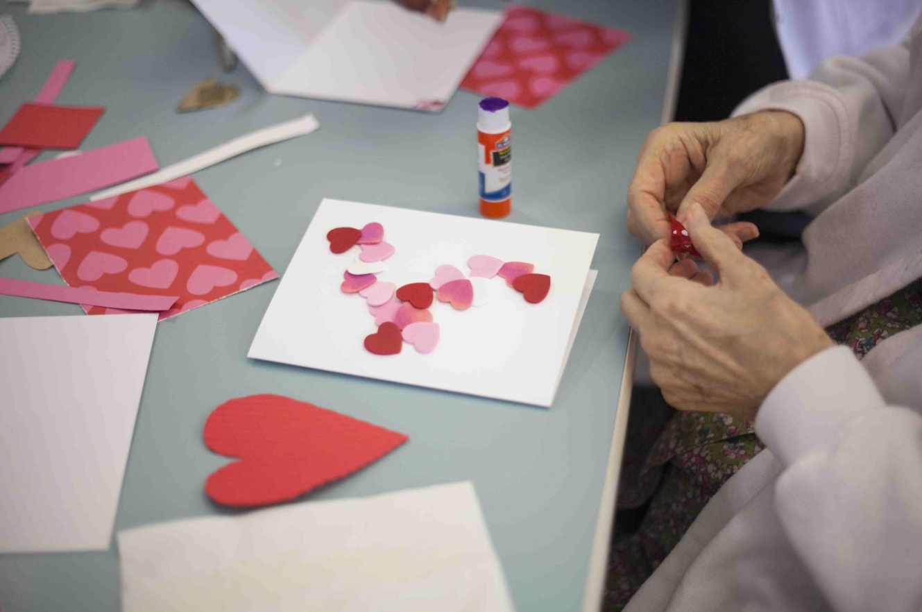 Nourishing the Soul: Valentine's Day Crafternoon