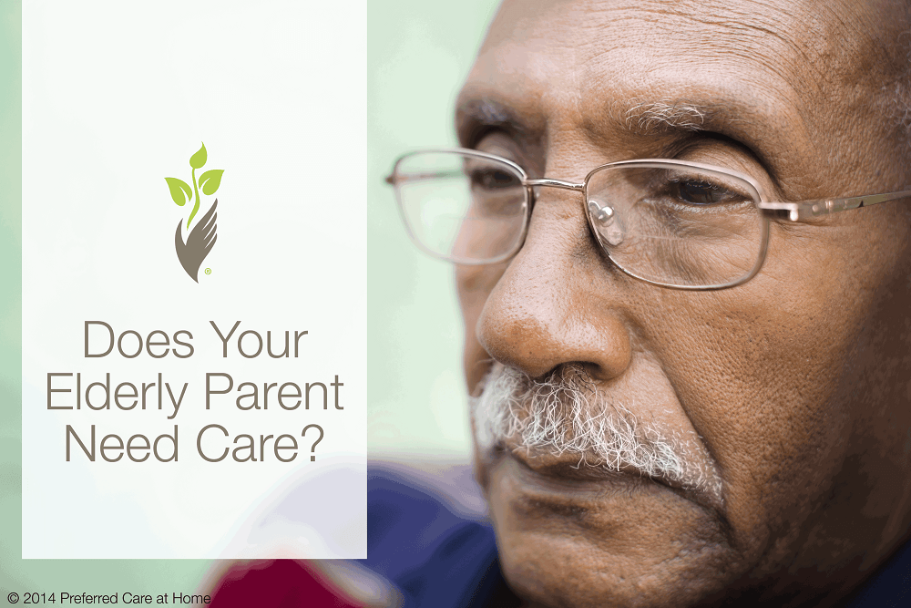Does Your Elderly Parent Need Care?