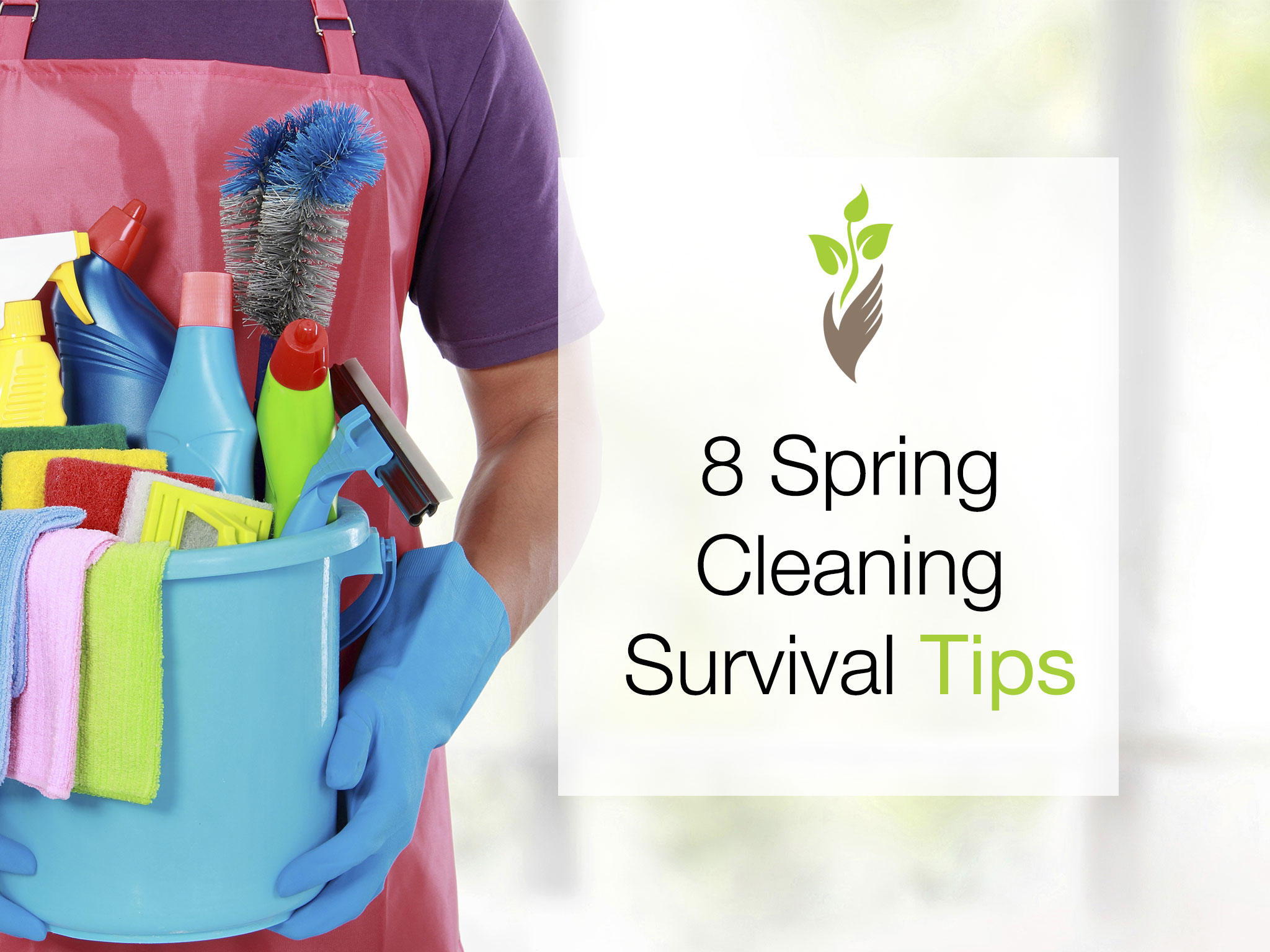 8 Spring Cleaning Survival Tips