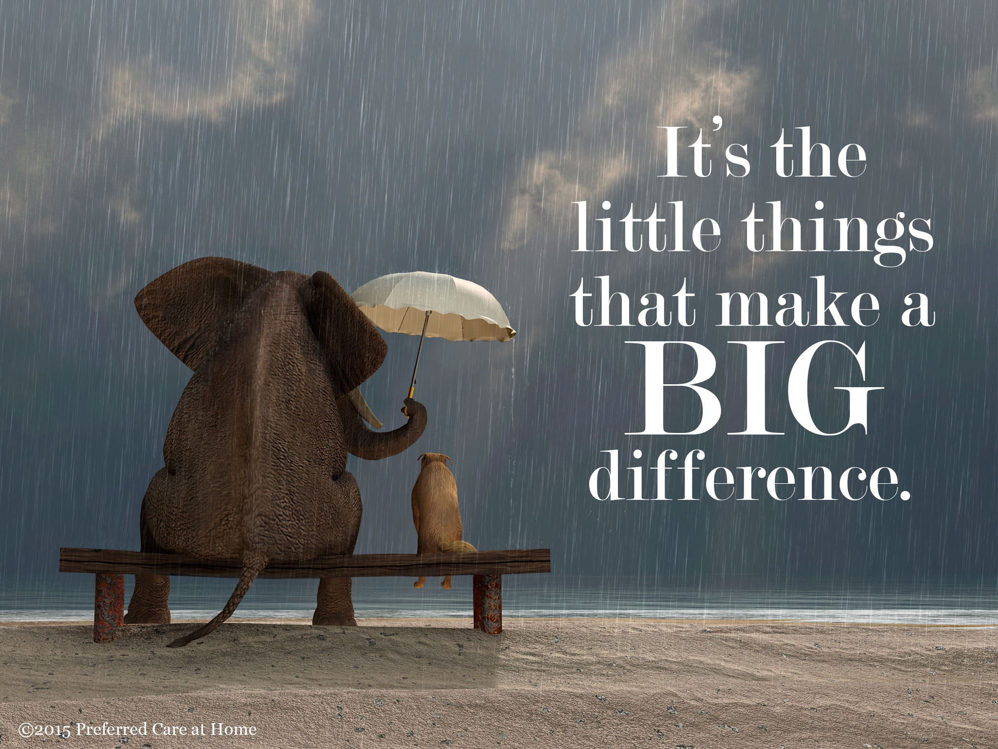 How Small Things Make A Big Difference