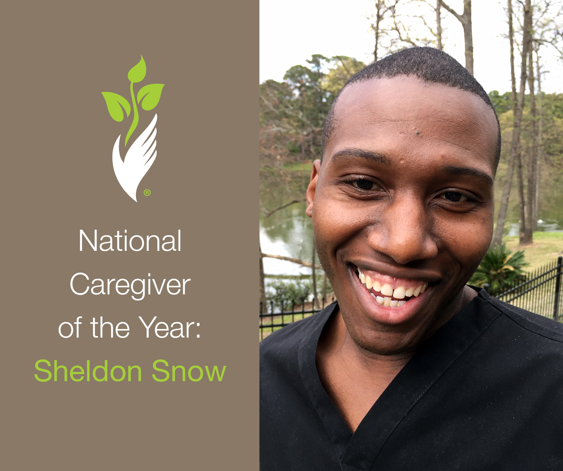 National Caregiver of the Year: Sheldon Snow