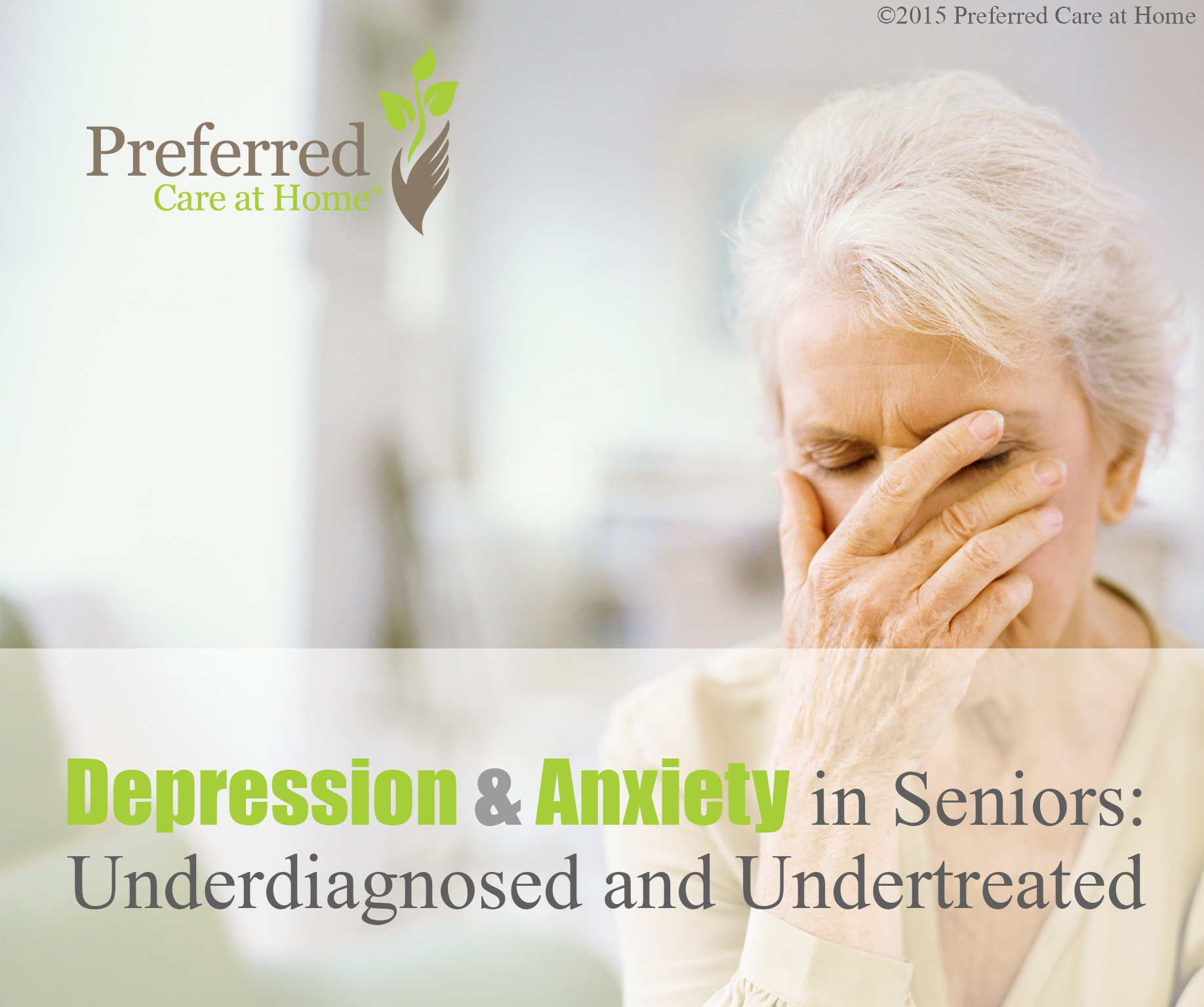 Depression and Anxiety in Seniors: Underdiagnosed and Undertreated