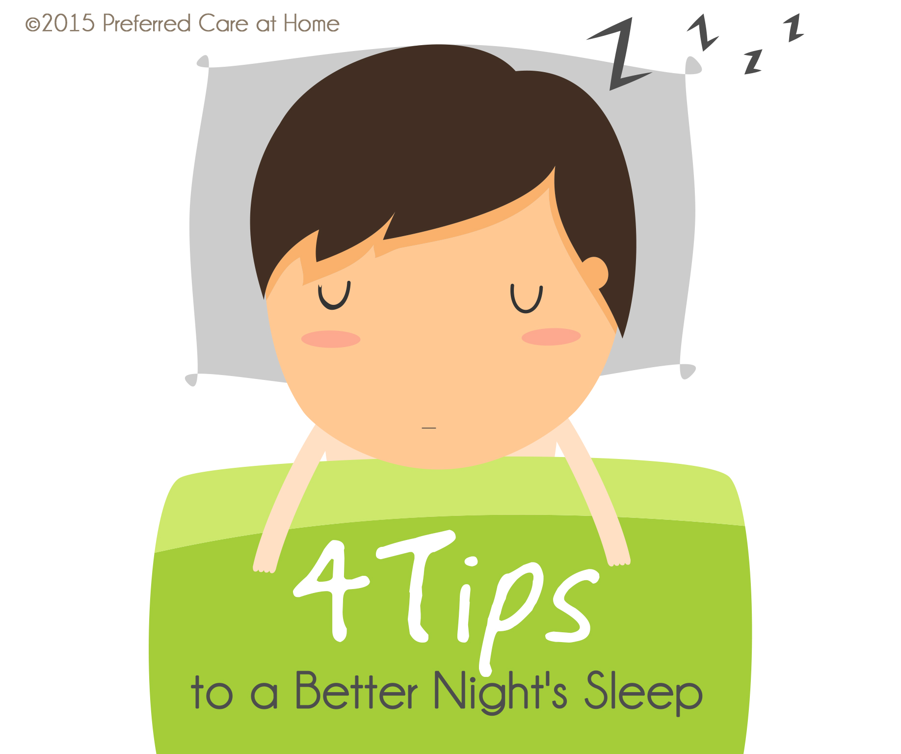 4 Tips to a Better Night's Sleep