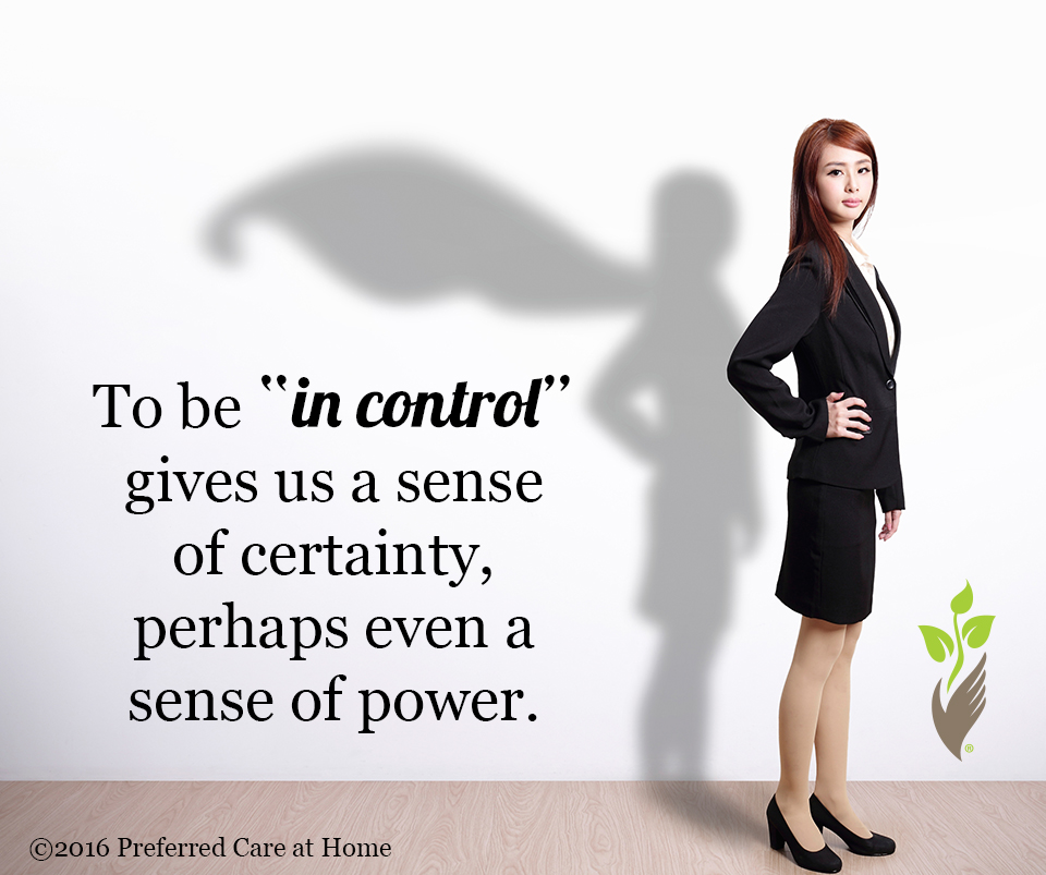 Control…or Lack Thereof!