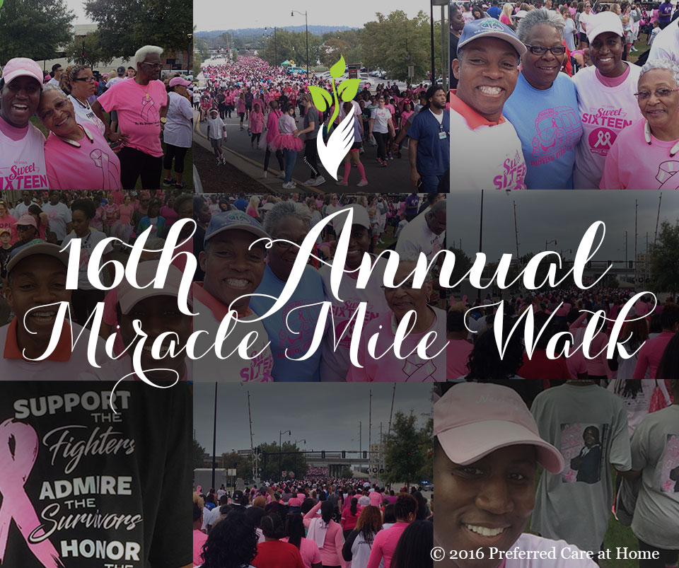 16th Annual Miracle Mile Walk