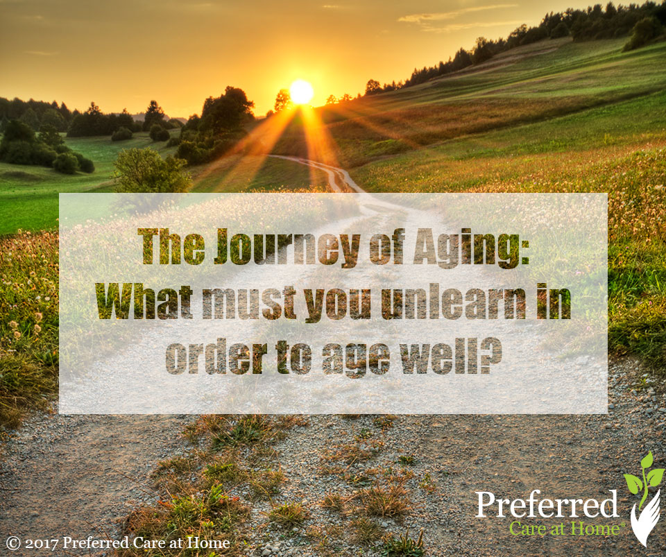 Journey of Aging: Learning and Unlearning