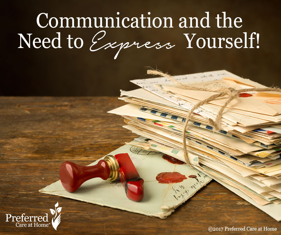 Communication and the Need to Express Yourself!