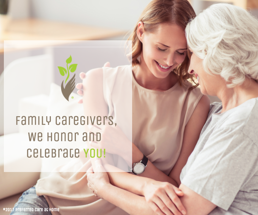 November—A Time to Honor Family Caregivers