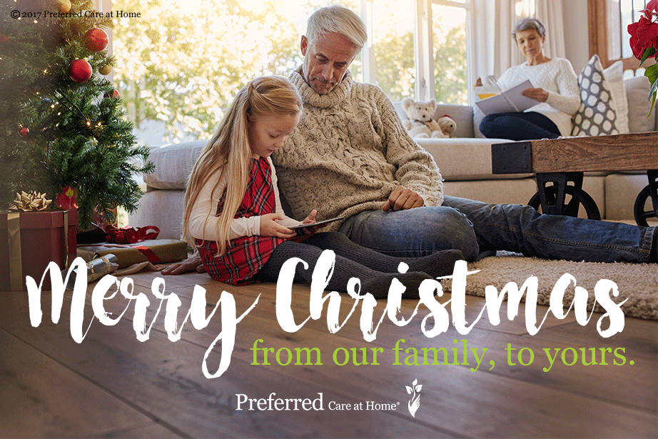 Merry Christmas from Preferred Care at Home!