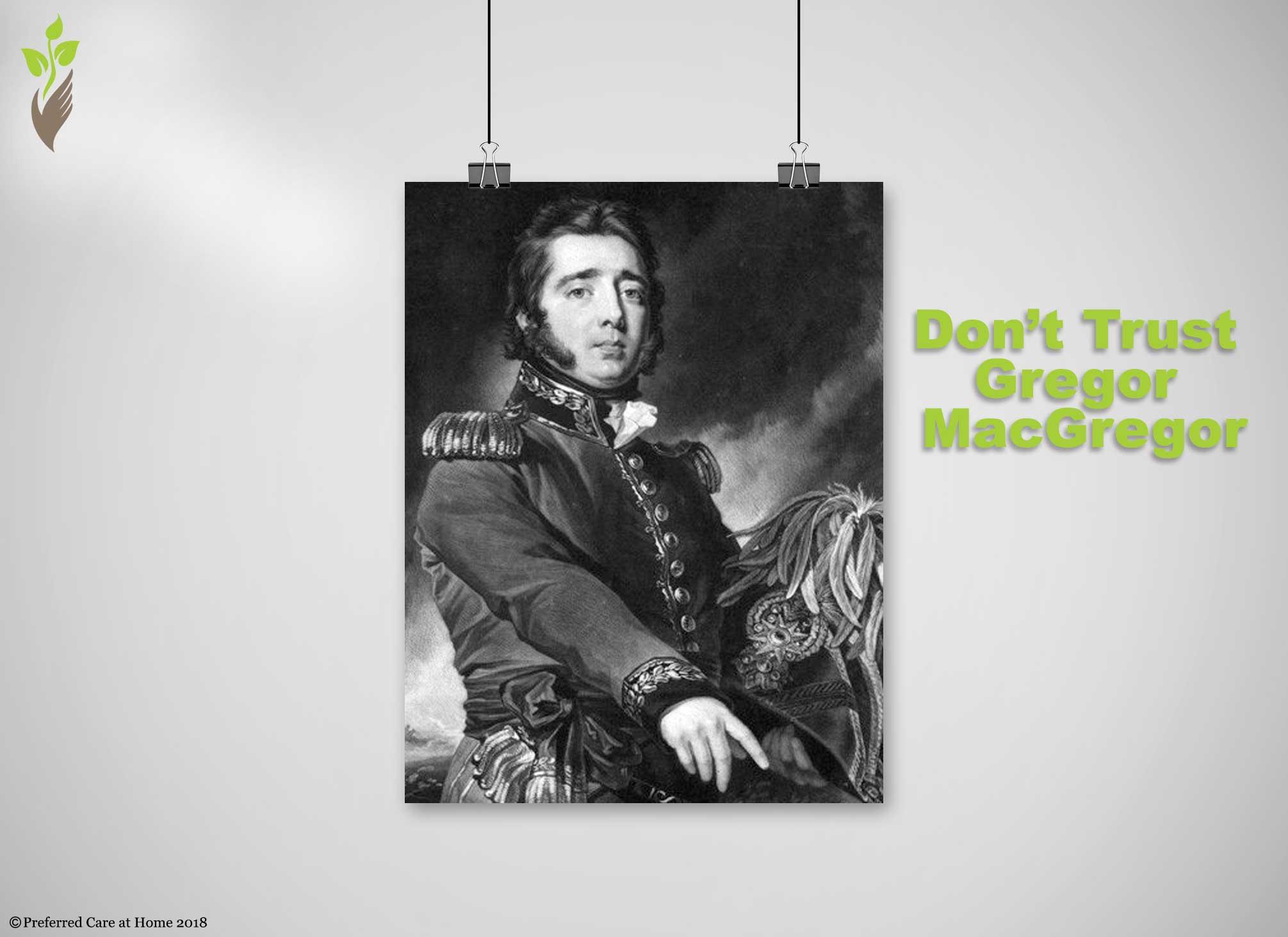Gregor MacGregor's confidence trick