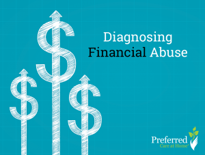 financial abuse, senior abuse