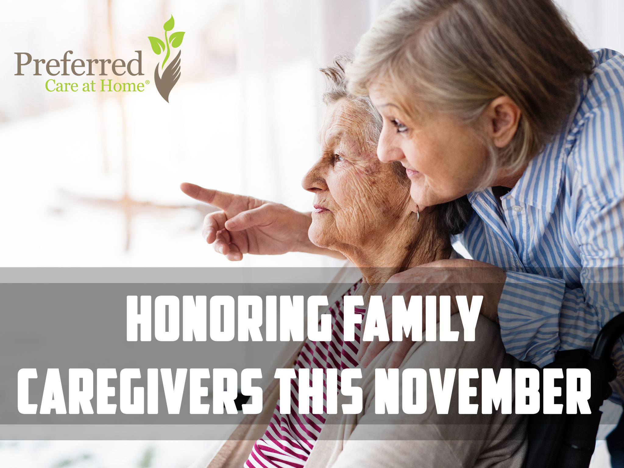Honoring Family Caregivers this November