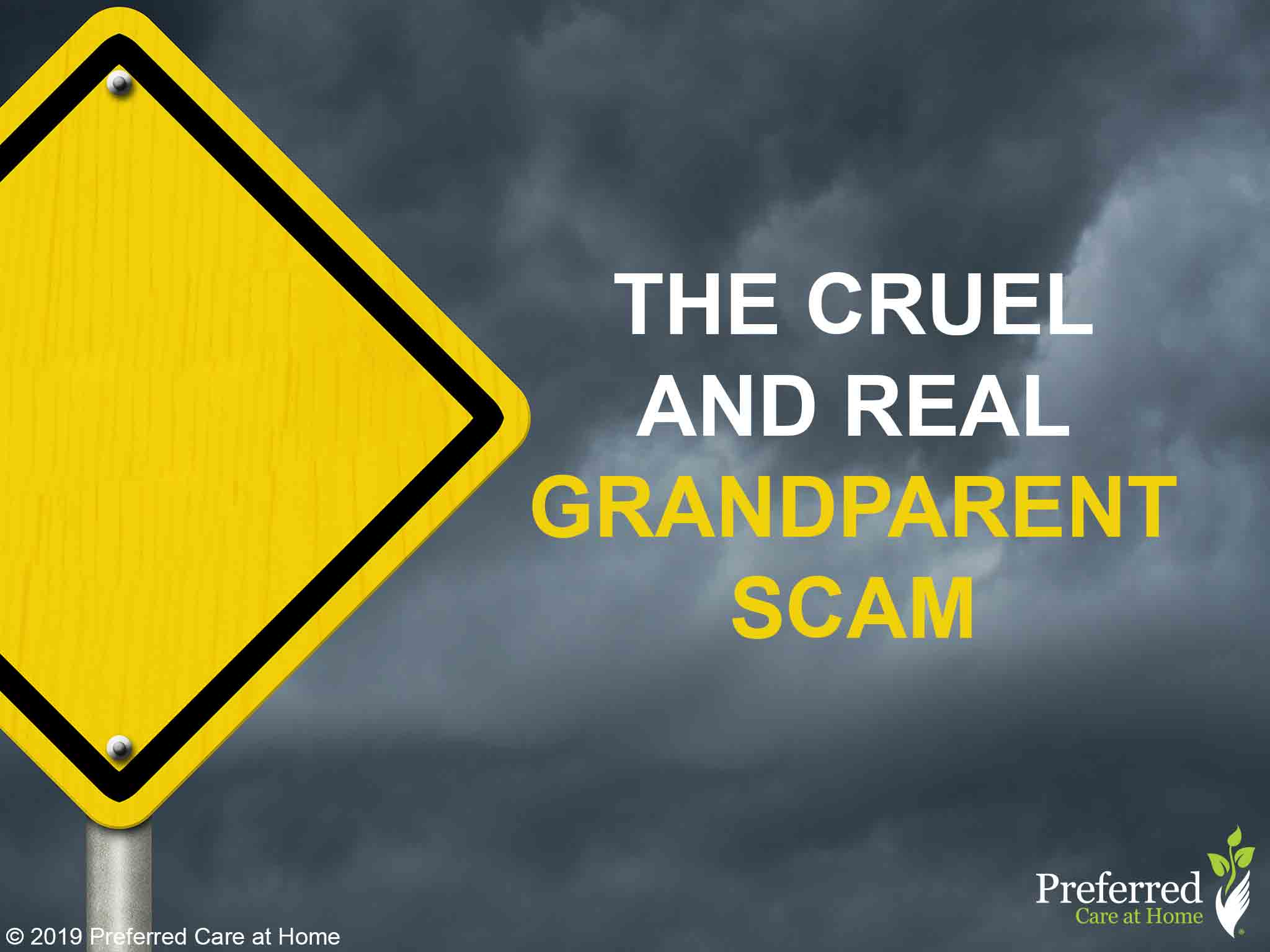 Have you heard about the Grandparent Scam?