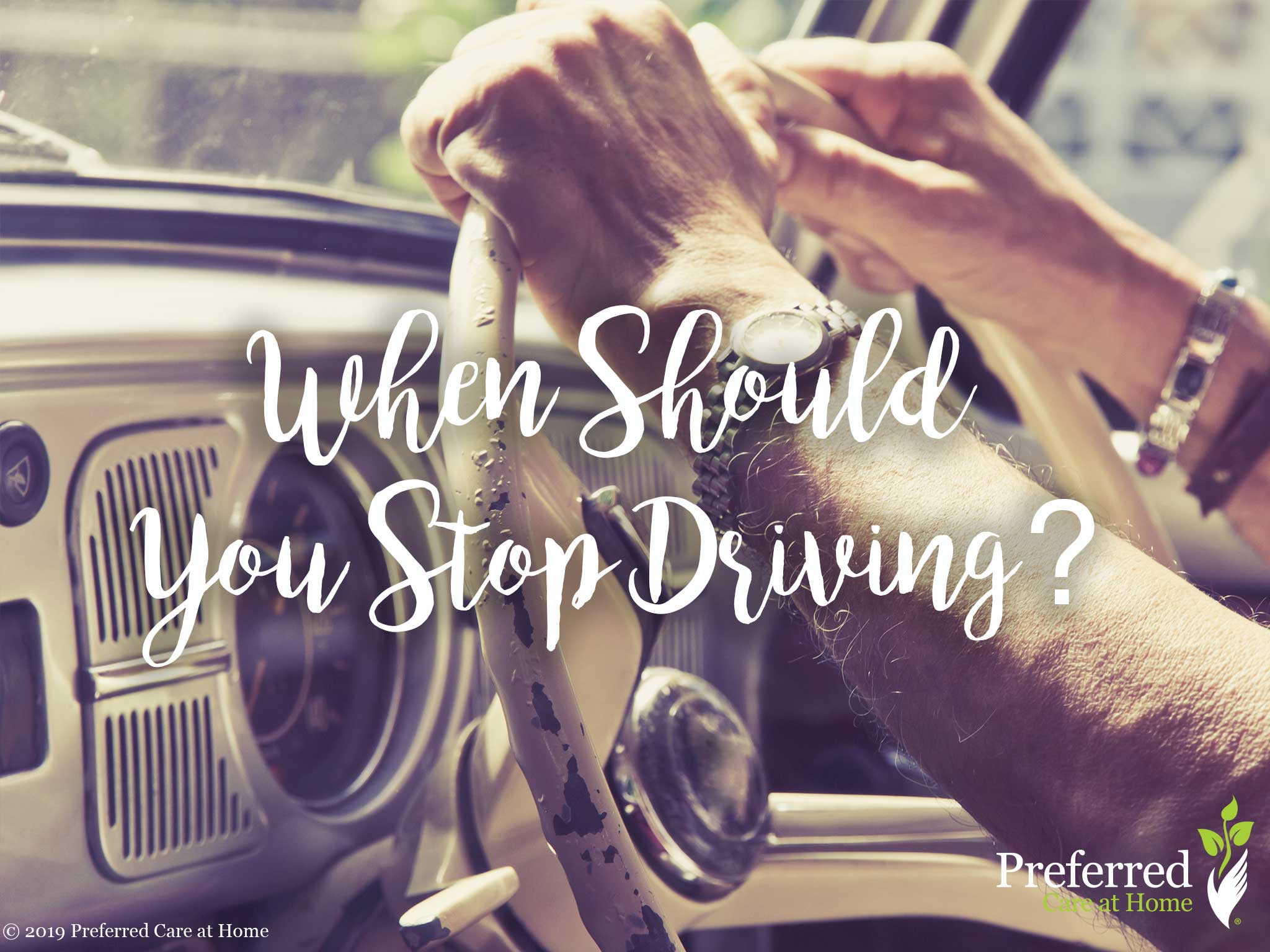 When Should You Stop Driving?