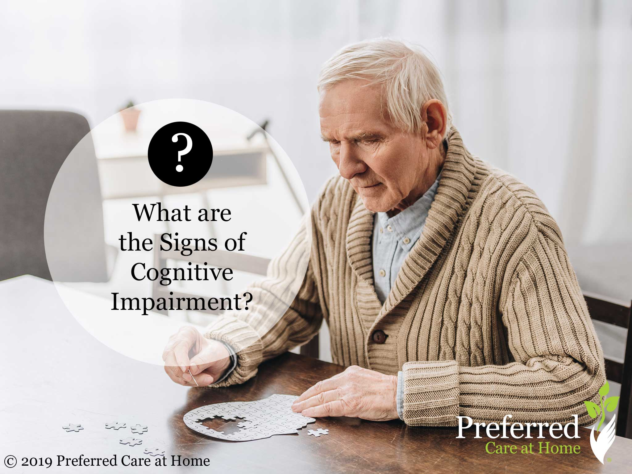 What are the Signs of Cognitive Impairment?