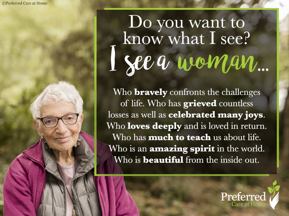 What Do You See? Aging from the Inside Out