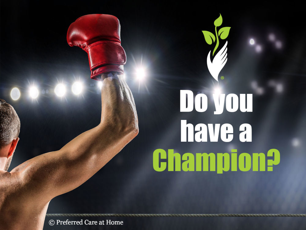 Do You Have Your Champion?