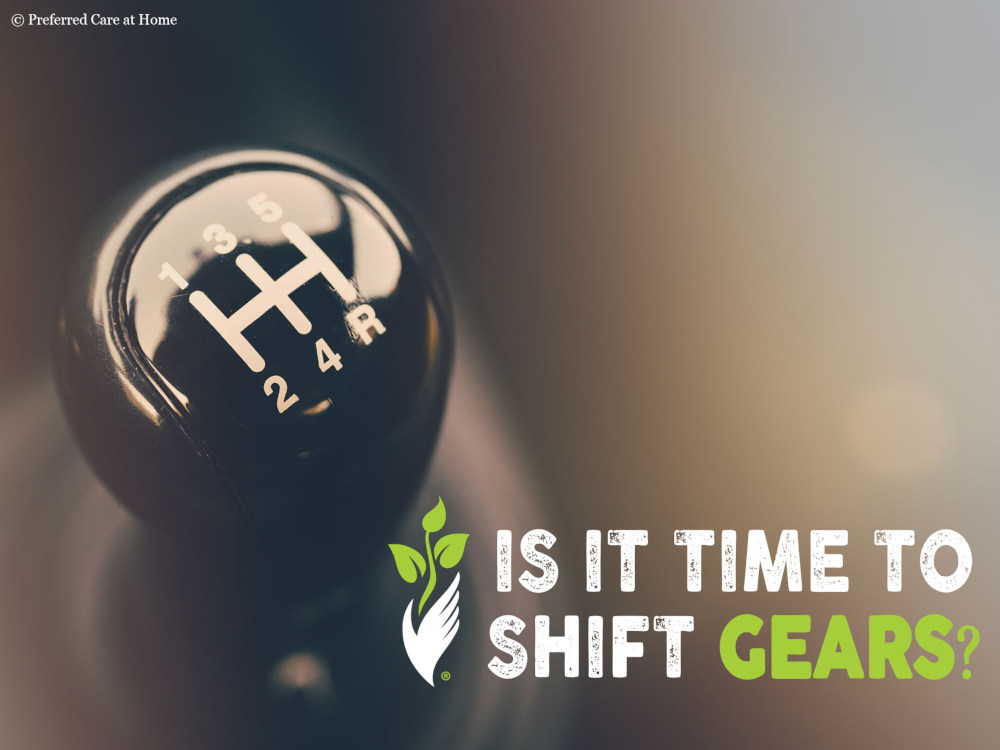 Ready for Change: Time to Shift Gears?
