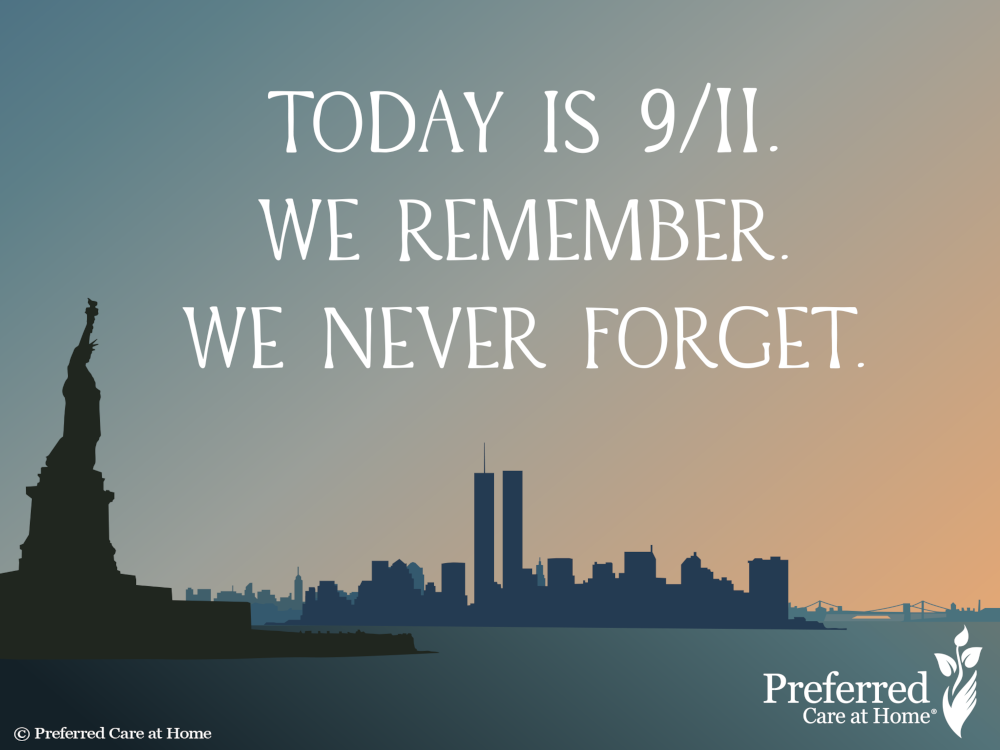 Today is 9/11 and We Remember